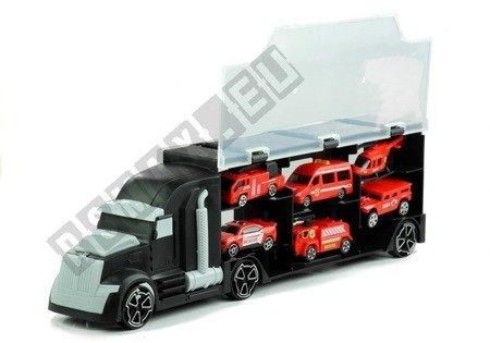 Lkw umfangreiches Set 5 Autos Hubschrauber Spielzeug für Kinder Fahrzeug