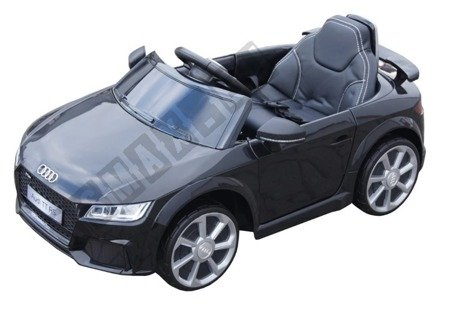 Mini Audi TT RS auf Batterie Schwarz Lizenz