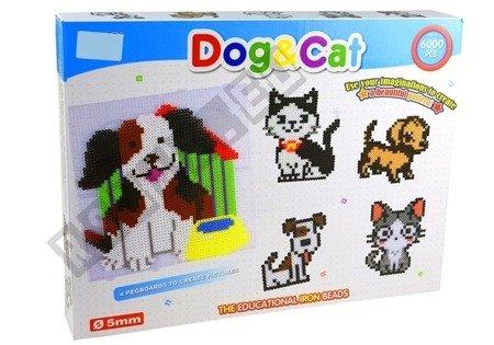 Mosaik kreatives Set Kunststoffperlen Hund und Katze Set für Kinder