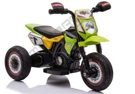 Motorrad GTM2288 Grün Musik-Panel LED Frontscheinwerfer Kindermotorrad