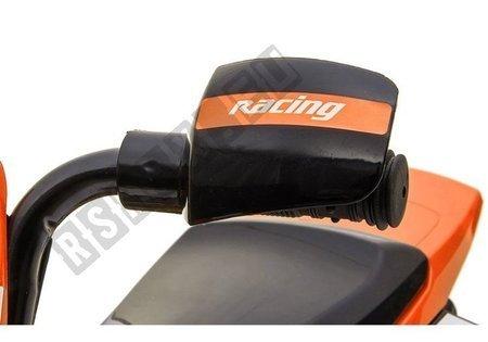 Motorrad GTM2288 Orange LED Frontscheinwerfer Musik-Panel 1x35W