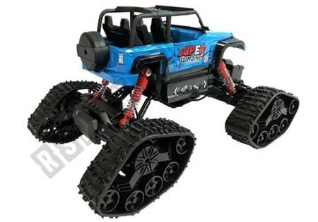 Offroad R/C Jeep Auto 4x4 Blau