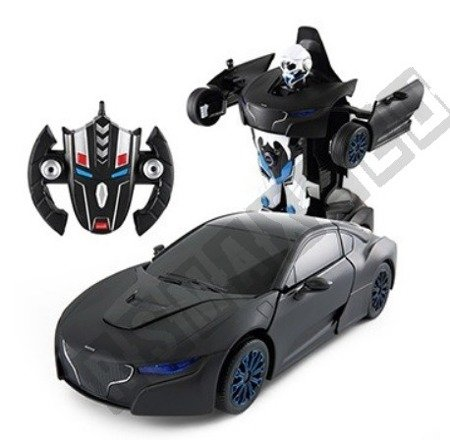 RASTAR RS X MAN Transformer RC Auto Ferngesteuertes 2in1 schwarz