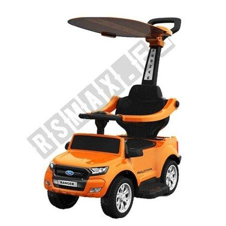 Rutschauto FORD RANGER Lizenz Rutscher Kinderauto Rutschfahrzeug Schiebeauto 4in1 Orange