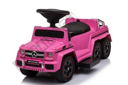 Rutschauto Mercedes G63 Akku Mitfahrer rosa NEU !
