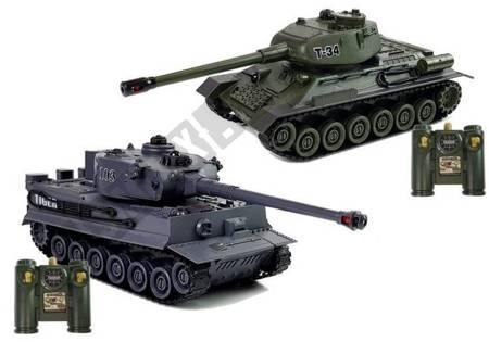 Satz von zwei ferngesteuerten Tanks R / C.