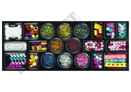 Schönheit-Set Perlen + 2 Schmuckkästchen Spielzeug für Kinder Perlen