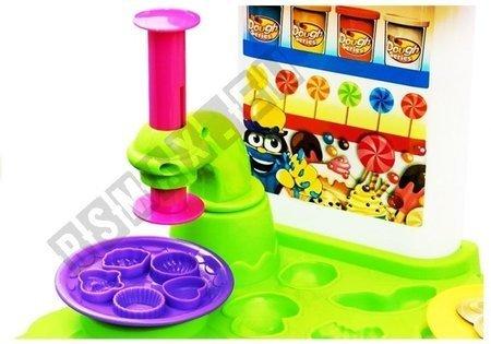Set Play-Dough 33 Elemente Set Stand 8 Dosen Spielknette Spielmasse Spielzeug