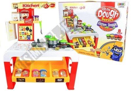 Spielknete Küche Spiel Set Stand Shop 8 Dosen 32pcs Spielknete für Kinder 3+