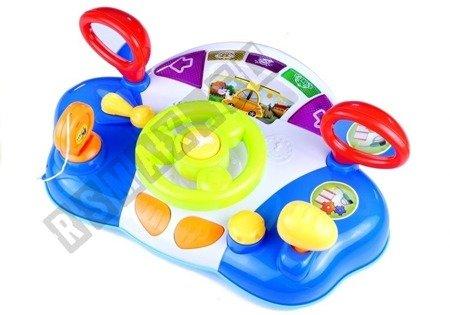 interaktives Lenkrad für Baby Sound- und Lichteffekte Spielzeug für Baby
