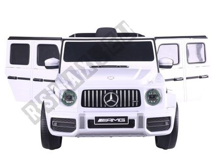 Auto na Akumulator Mercedes G63  Biały