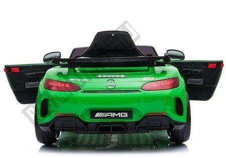 Auto na Akumulator Mercedes GTR Zielony