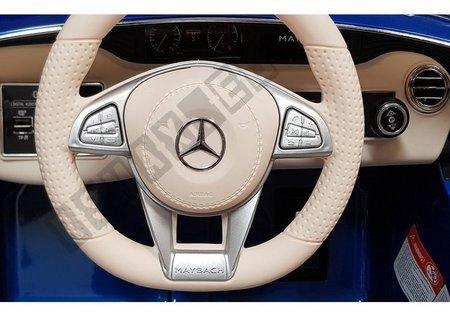 Auto na Akumulator Mercedes Maybach Biały