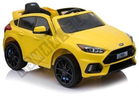 Auto na akumulator Ford Focus RS Żółte