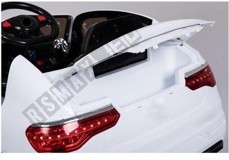 Auto na akumulator LL858 Białe 2x45W