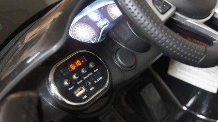 Auto na akumulator Mercedes GTR  Licencja biały !