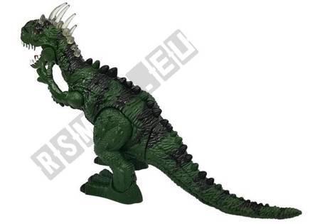 Dinozaur Na Baterie Składający Jaja Zielony