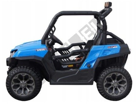 Dwuosobowe auto na akumulator Buggy niebieski !