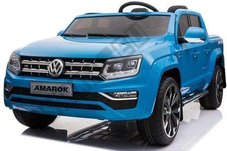 Dwuosobowe auto na akumulator VW AMAROK niebieski