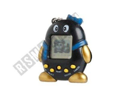 Elektroniczne Zwierzątko Tamagotchi z Kokardką Czarne