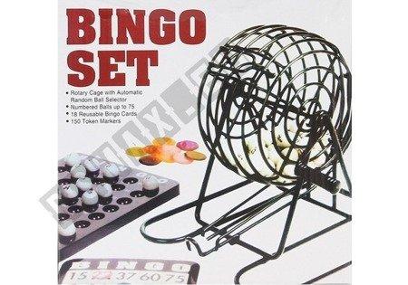 Familijna Gra Losowa Bingo Lotto Metalowe