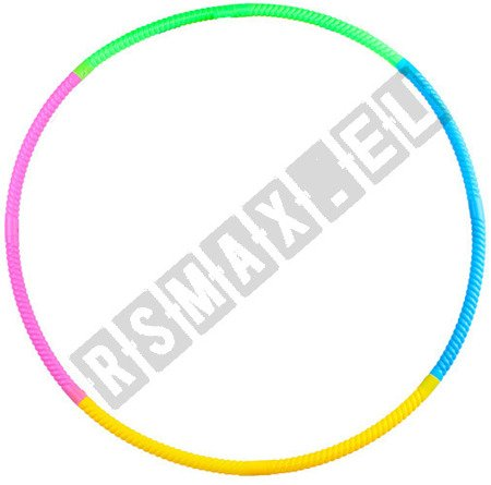 Hula Hoop 80 cm z masażerem kolorowe