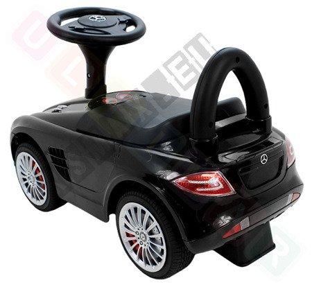 Jeździk MERCEDES SLR McLAREN autko pchacz czarny