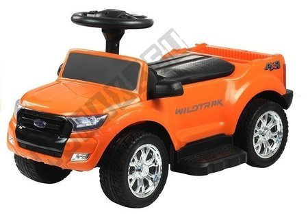Jeździk Pchacz Ford Ranger z Daszkiem Pomarańczowy