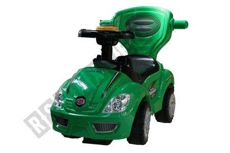 Jeździk, chodzik, pchacz 3w1 zielony