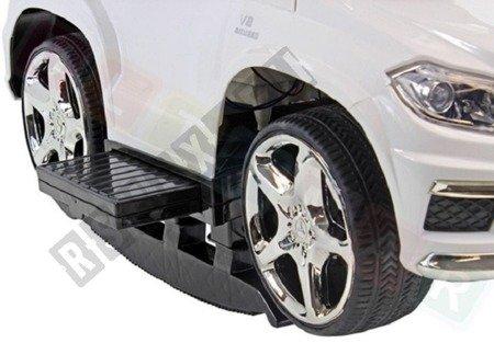 Jeździk, pchacz, bujak: Mercedes GL63 AMG biały