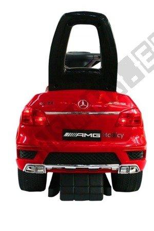 Jeździk, pchacz, bujak: Mercedes GL63 AMG czerwony