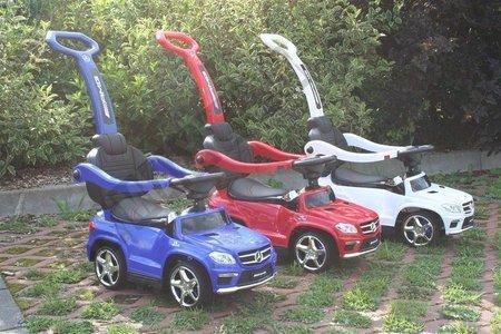 Jeździk, pchacz, bujak Mercedes GL63 AMG niebieski