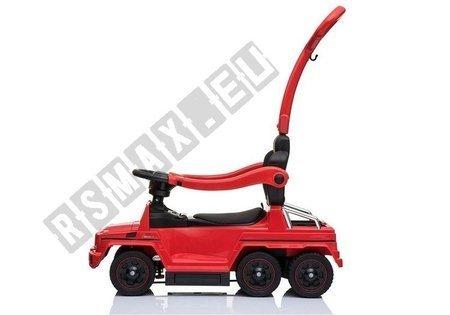 Jeździk z Pchaczem Mercedes 6x6 SX1838 Czerwony