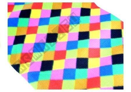 Koc 150x250cm mozaika kolorów