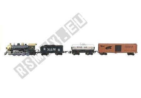 Kolejka Na Baterie Express 4 Wagony Tory