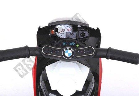 MINI MOTOREK NA AKUMULATOR BMW S1000RR CZERWONY