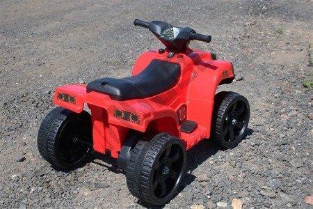 Mini Quad BJC912 na akumulator czerwony !