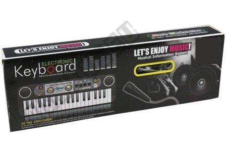 Organki Elektryczne Z Mikrofonem 37 Klawiszy