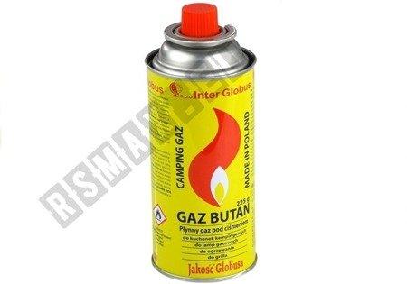 Palny gaz pod ciśnieniem Butan 225g Nabój Kartusz 2822