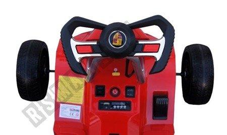 Pojazd na akumulator Duży Gokart 2.4g czarny