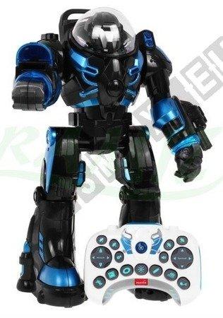 Robot interaktywny zdalnie sterowany czarny