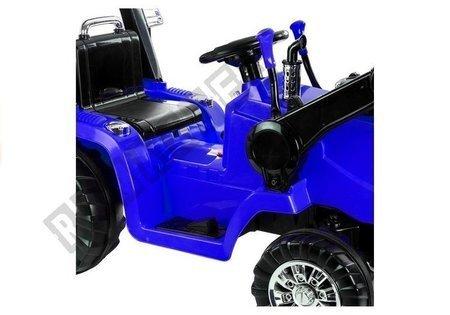 Traktor na Akumulator ZP1005 Niebieskie