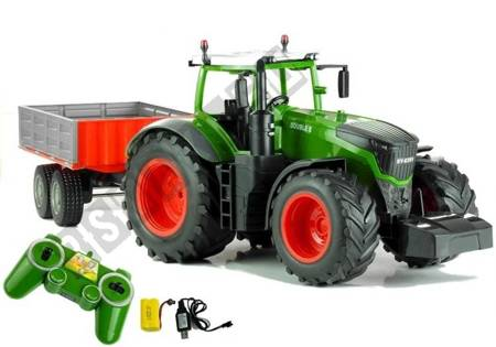 Traktor z Wywrotką Zdalnie Sterowany Pilot R/C