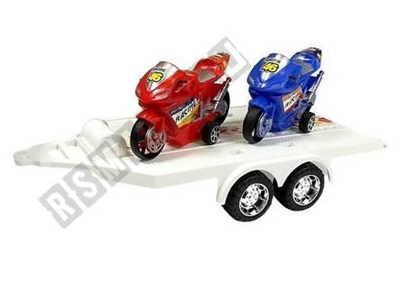 Zestaw Pojazdów Monster Truck z Lawetą Zielony
