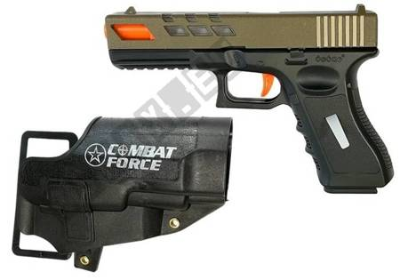 Zestaw Wojskowy Pistolet na strzałki MP7 Glock 17